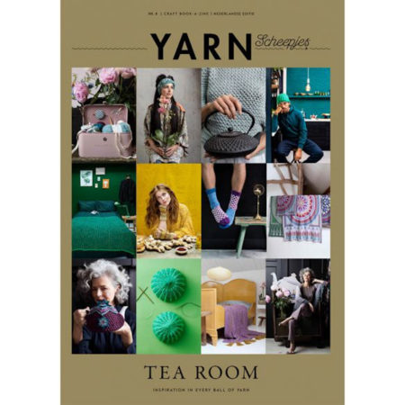 Scheepjes Yarn Bookazine 8 Tea Room