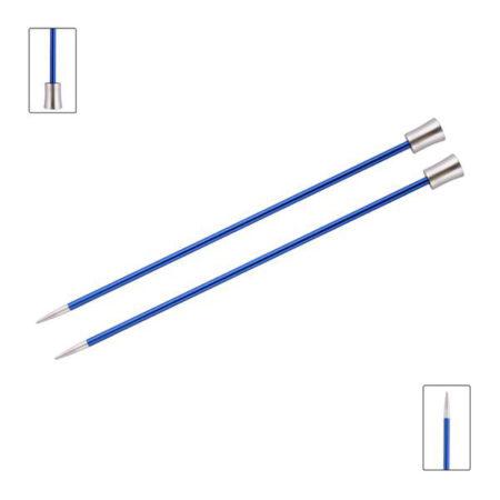 KnitPro Zing Single Point Knitting Needles 30cm 4mm