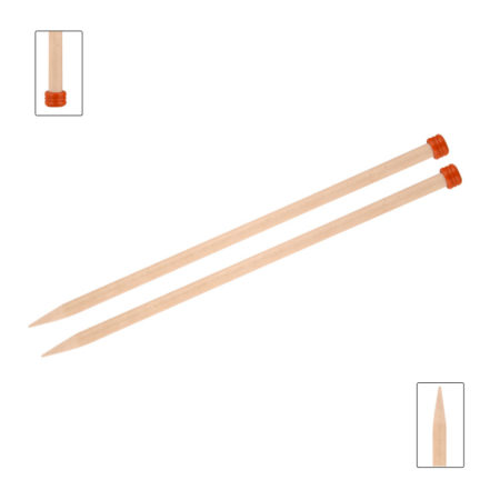 KnitPro Basix Birch Single Point Needles